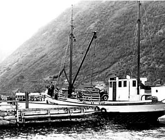 ferry at Balestrand
