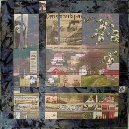 photo quilt 'livets vev'