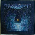 Blue Night quilt collage