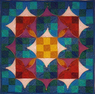 Chameleon Quilt no 3 Nine Patch Kameleon