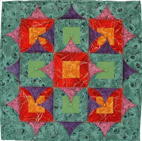 Kameleon quilt no 5 'Simple Kameleon'