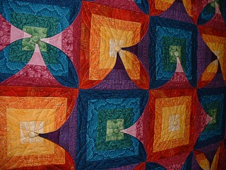 Detail of Nancy's quilt