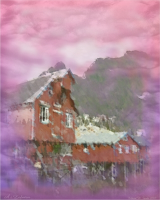 fabric print aa in lofoten