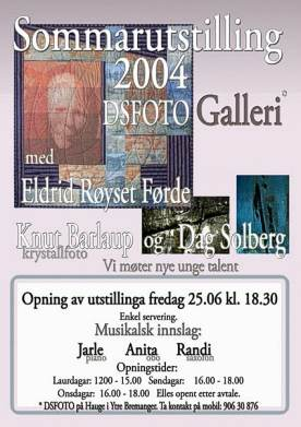 poster for quilt exhibition summer 2004